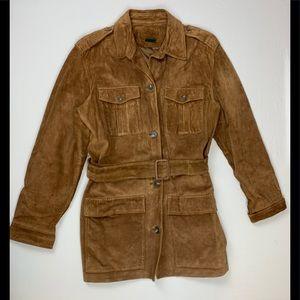 Ralph Lauren Genuine Leather Suede Jacket